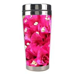 Bougainvillea Stainless Steel Travel Tumblers by trendistuff