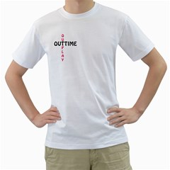 Outtime / Outplay Men s T-shirt (white)