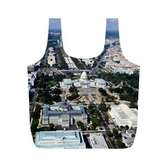 Washington Dc Full Print Recycle Bags (m)  by trendistuff
