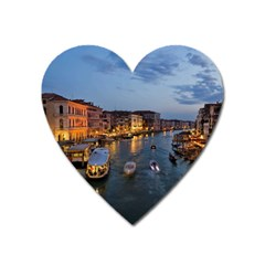 Venice Canal Heart Magnet by trendistuff