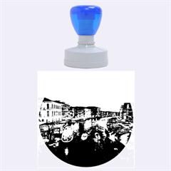 Venice Canal Rubber Round Stamps (large)