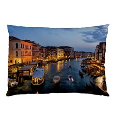 Venice Canal Pillow Cases (two Sides)