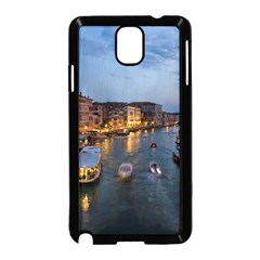 Venice Canal Samsung Galaxy Note 3 Neo Hardshell Case (black) by trendistuff