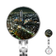 Tokyo Night Stainless Steel Nurses Watches by trendistuff