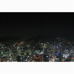Seoul Night Lights Collage 12  X 18  by trendistuff