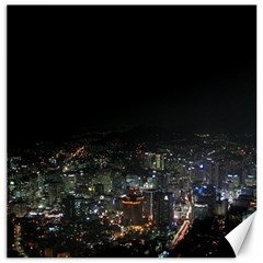 Seoul Night Lights Canvas 12  X 12   by trendistuff