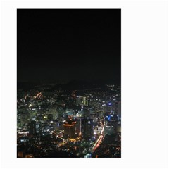 Seoul Night Lights Large Garden Flag (two Sides)