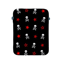 Stars, Skulls And Crossbones Apple Ipad 2/3/4 Protective Soft Cases by waywardmuse