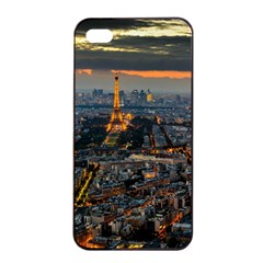 Paris From Above Apple Iphone 4/4s Seamless Case (black) by trendistuff
