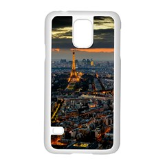 Paris From Above Samsung Galaxy S5 Case (white) by trendistuff