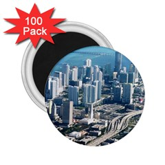 Miami 2 25  Magnets (100 Pack)  by trendistuff