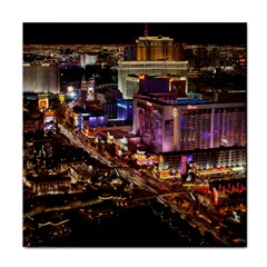 Las Vegas 2 Face Towel by trendistuff