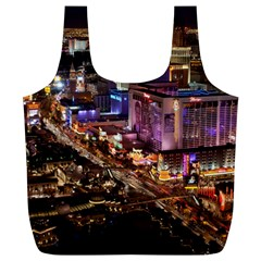 Las Vegas 2 Full Print Recycle Bags (l)  by trendistuff