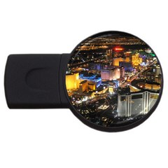 Las Vegas 1 Usb Flash Drive Round (2 Gb)  by trendistuff