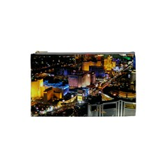 Las Vegas 1 Cosmetic Bag (small)  by trendistuff