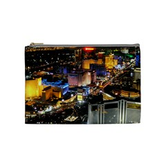 Las Vegas 1 Cosmetic Bag (medium)  by trendistuff
