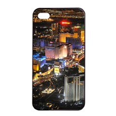 Las Vegas 1 Apple Iphone 4/4s Seamless Case (black) by trendistuff