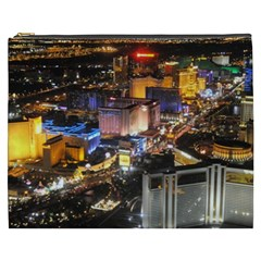 Las Vegas 1 Cosmetic Bag (xxxl)  by trendistuff