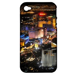 Las Vegas 1 Apple Iphone 4/4s Hardshell Case (pc+silicone) by trendistuff