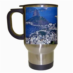 Christ On Corcovado Travel Mugs (white) by trendistuff