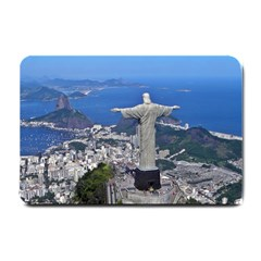 Christ On Corcovado Small Doormat