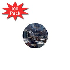 Chicago 1  Mini Buttons (100 Pack)  by trendistuff