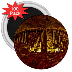 Volcano Cave 3  Magnets (100 Pack) by trendistuff