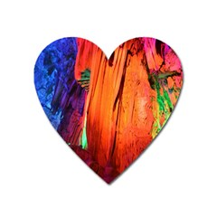 Reed Flute Caves 4 Heart Magnet by trendistuff