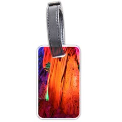 Reed Flute Caves 4 Luggage Tags (one Side)  by trendistuff