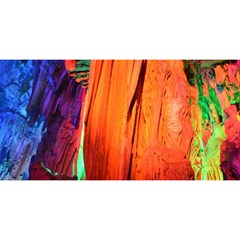Reed Flute Caves 4 You Are Invited 3d Greeting Card (8x4)  by trendistuff