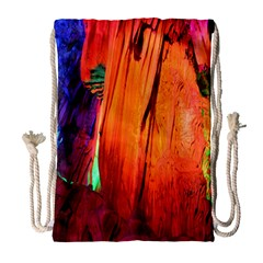 Reed Flute Caves 4 Drawstring Bag (large) by trendistuff