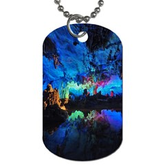Reed Flute Caves 2 Dog Tag (two Sides) by trendistuff