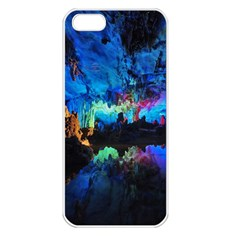 Reed Flute Caves 2 Apple Iphone 5 Seamless Case (white) by trendistuff