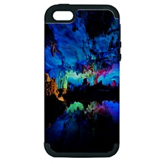 Reed Flute Caves 2 Apple Iphone 5 Hardshell Case (pc+silicone) by trendistuff