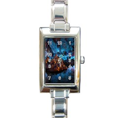 Reed Flute Caves 1 Rectangle Italian Charm Watches by trendistuff