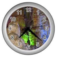 Phong Nha Ke Bang 2 Wall Clocks (silver)  by trendistuff