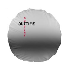 Outtime / Outplay Standard 15  Premium Round Cushions