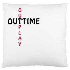 Outtime / Outplay Large Flano Cushion Cases (two Sides)  by RespawnLARPer