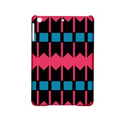 Rhombus And Stripes Pattern			apple Ipad Mini 2 Hardshell Case by LalyLauraFLM