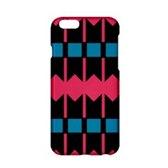 Rhombus And Stripes Pattern			apple Iphone 6/6s Hardshell Case by LalyLauraFLM