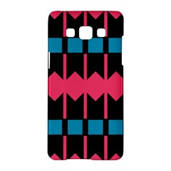 Rhombus And Stripes Pattern			samsung Galaxy A5 Hardshell Case by LalyLauraFLM