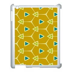 Connected Triangles			apple Ipad 3/4 Case (white) by LalyLauraFLM