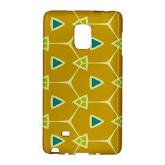 Connected Triangles			samsung Galaxy Note Edge Hardshell Case by LalyLauraFLM