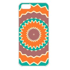 Hypnotic Star			apple Iphone 5 Seamless Case (white) by LalyLauraFLM