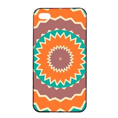 Hypnotic Star			apple Iphone 4/4s Seamless Case (black) by LalyLauraFLM