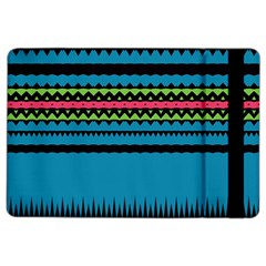 Chevrons And Triangles			apple Ipad Air 2 Flip Case by LalyLauraFLM