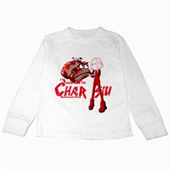 Michael Andrew Law s Mal Girl & Mr Bbq Pork Kids Long Sleeve T Shirts