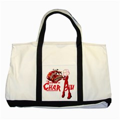 Michael Andrew Law s Mal Girl & Mr Bbq Pork Two Tone Tote Bag  by michaelandrewlaw