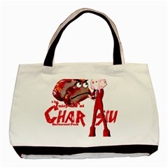 Michael Andrew Law s Mal Girl & Mr Bbq Pork Basic Tote Bag (two Sides)