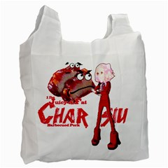 Michael Andrew Law s Mal Girl & Mr Bbq Pork Recycle Bag (two Side)  by michaelandrewlaw